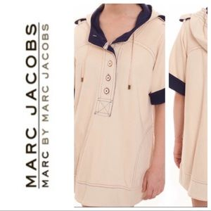 Marc by Marc Jacobs sailor tunic hoodie